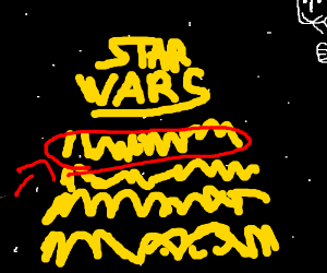 once upon a time in a galaxy far far away