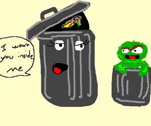 living trashcan