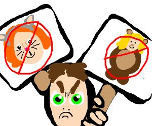 Man Hates Furries