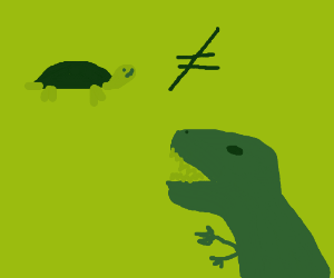 turtles are not disosaurs