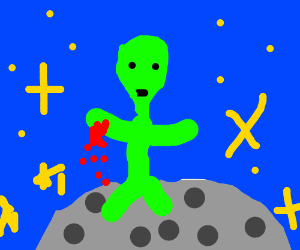 if aliens had the blood of humans?