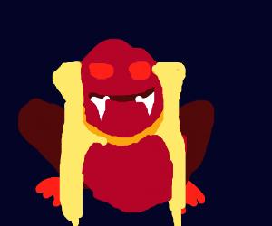 Vampire frog