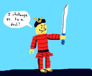 shiny samurai Jack - Drawception