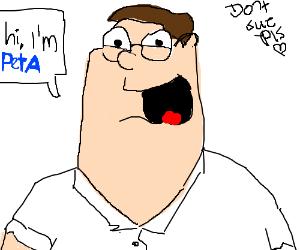 Peta people. (don't sue him)
