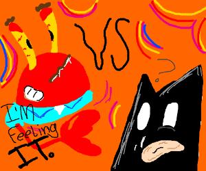 Mr. Krabbs on Drugs VS. Batman