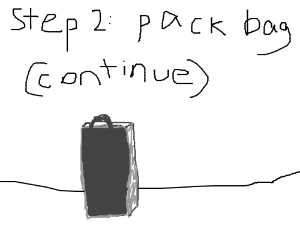 Step 1: Gather your supplies (Continue up)