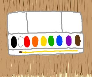 Kids watercolor paint kit