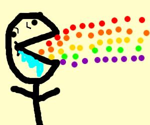 Skittles...taste the rainbow