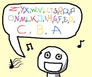 abc backwards