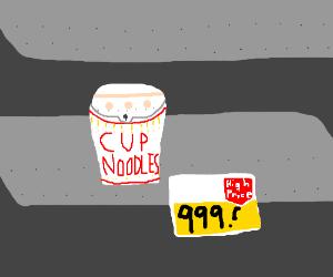 Super expensive ramen noodles