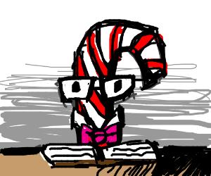 Nerdy Candy Cane - Drawception