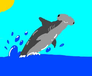 Golden Sawfish - Drawception