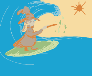 surfing wizard