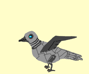 Robot Dove - Drawception