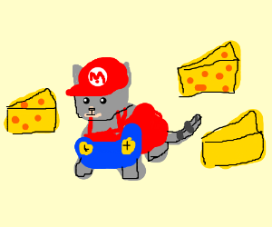 Cat in Cheese Land from Mario Kart GBA