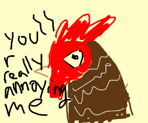 Annoyed Rooster