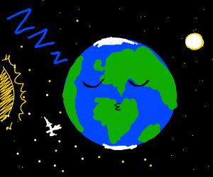 Sleepy Earth - Drawception