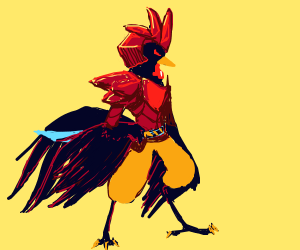 anime rooster