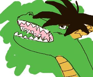 Goku? As a dragon