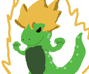 lizard super saiyan