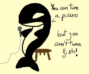 an orca comedian