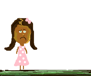 Nikki senses distress (Nikki is black btw)