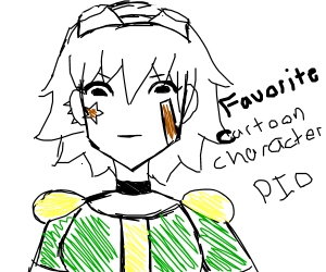Favourite cartoon character PIO