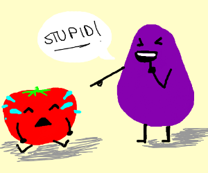 Being Mean Clipart