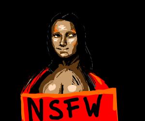 Naughty Mona Lisa (NSFW)