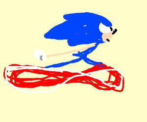 Sanic the Hedgehog gotta go fassssssst