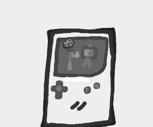 Art in gameboy