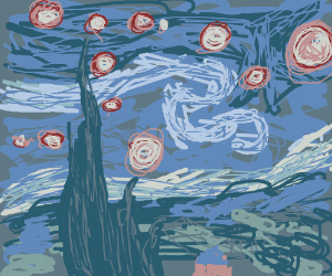Van Goghs Starry Night