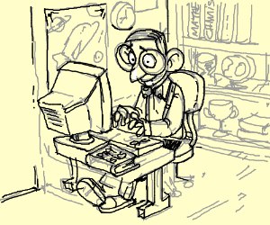 nerd empolye