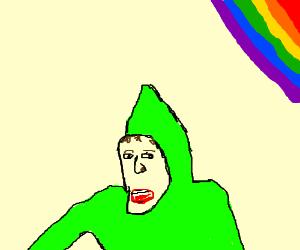 """""""I'm gay"""" meme."""
