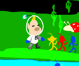 Louie from Pikmin