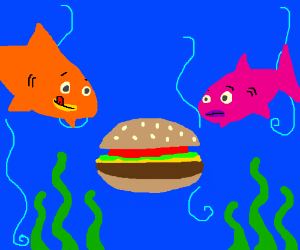 Burgers under the sea