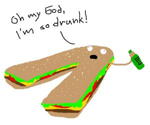 Drunk Burgerpants