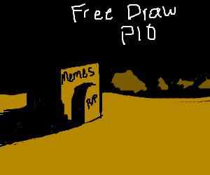 Free Draw PIO (koi fish<)