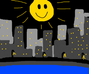 A happy city