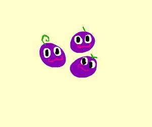 kawaii grapes