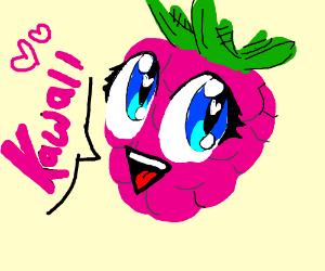 WAAAAY too happy kawaii berries