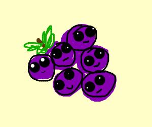 Kawaii grape