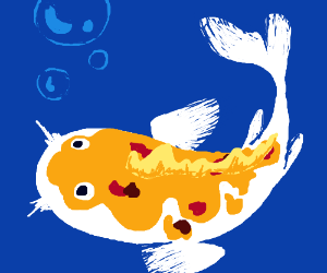 egg colored fish