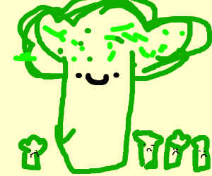 Giant broccoli