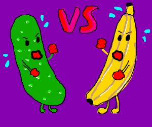 Pickle vs Banana