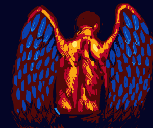 Man with wings