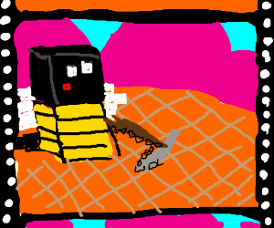 minecraft but its actually the bee movie - Drawception