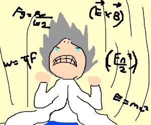 Super Sayian Mathematician
