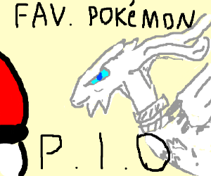 Favorite pokemon Pio
