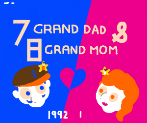 7 grand dad x 8 grand ma (the best ship)